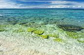 Beautiful beach at Balicasag island, Philippines