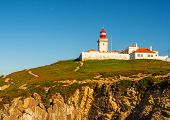 Cabo de Roca, Viewpoint at the coast of Portugal poster