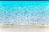 foto of tanga  - Formentera Llevant tanga beach with perfect turquoise water - JPG
