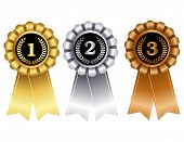 image of award-winning  - Elegant award ribbon  - JPG