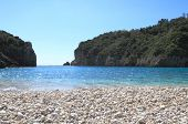 Paleokastritsa beach of Corfu island, Greece