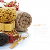 stock photo of pumice-stone  - Spa and Wellness - JPG