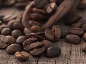 stock photo of arabian  - coffee beans - JPG
