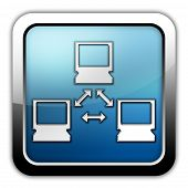 pic of vpn  - Image Illustration Image Icon Button Pictogram with Network symbol - JPG