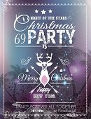 pic of christmas theme  - Christmas Party Flyer for Club and Disco events - JPG