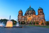 foto of dom  - Berlin Cathedral or Berlin Dom at Berlin city Germany - JPG