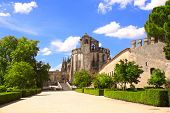 picture of templar  - Templar Convent of Christ in Tomar - JPG