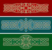 picture of celtic  - Celtic ornaments and patterns for design and ornate - JPG