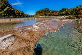 pic of crystal clear  - Rocky River Bed of the Crystal Clear Frio River - JPG
