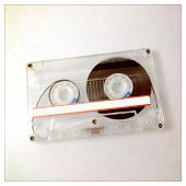 foto of magnetic tape  - Instagram filtered image of a cassette tape - JPG