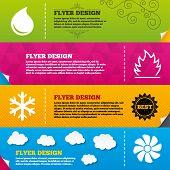 image of ventilator  - Flyer brochure designs - JPG