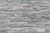 image of fortified wall  - pattern of decorative stone wall surface taken as background - JPG