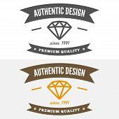 foto of vintage jewelry  - Vintage logo - JPG