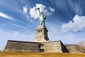stock photo of statue liberty  - Statue of Liberty in New York City - JPG