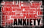 stock photo of panic  - Anxiety and Stress and its Destructive Qualities - JPG