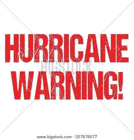 Hurricane Typo Header News Logo