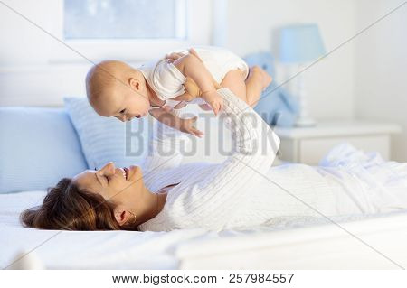 Mother And Baby On A