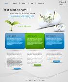 web design vector template, easy editable