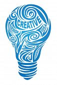 stock photo of muse  - Creative lamp - JPG