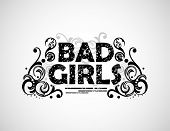 Bad Girls background
