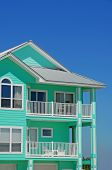 Beautiful Mint Colored Coastal Home