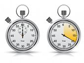 stock photo of chronometer  - Vector timer - JPG