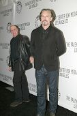 BEVERLY HILLS - MARCH 7: Dayton Callie and Tommy Flanagan arrive at the 2012 Paleyfest