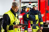 picture of fire-station  - Fire brigade  - JPG