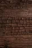 old cracked wooden surface background