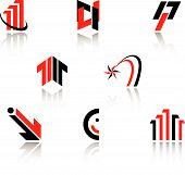 Set Of Symbols For Branding Designers poster