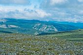 foto of perm  - View of tundra and mountain in the Kvarkush plateau - JPG