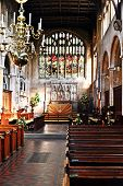 stock photo of church-of-england  - WINCHOMBE - JPG