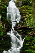 picture of buttermilk  - Buttermilk Falls After a Soaking Spring Rain - JPG