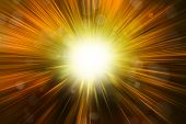 picture of big-bang  - Bright blast of light background - JPG