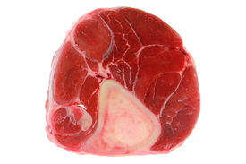 picture of castration  - Fresh and Raw Beef Shank - JPG