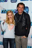 LOS ANGELES - DEC 18:  Dove Cameron, Luke Benward at the Premiere Of Disney Channel's