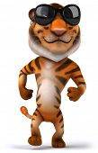 stock photo of cute tiger  - Tiger - JPG