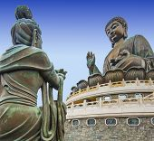 foto of lantau island  - Big Buddha of Lantau Island in Hong Kong - JPG