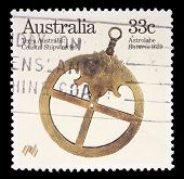 AUSTRALIA - CIRCA 1985: A stamp printed in Australia from the