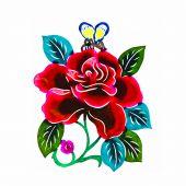 Постер, плакат: Красивые цветы