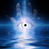 foto of all seeing eye  - Eye - JPG