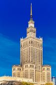 foto of palace  - Palace of Culture and Science  - JPG