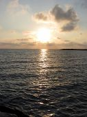 pic of leghorn  - Warm sunset at Marina di Cecina Leghorn - Italy