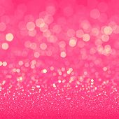 foto of glitter sparkle  - Pink glitter texture for retro background - JPG