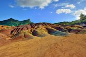picture of chamarel  - Main sight of Mauritius island - JPG