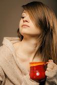 pic of sleepy  - Hot beverage - JPG