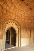 picture of mughal  - Interior of Safdarjung Tomb New Delhi India - JPG