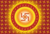 picture of swastik  - Swastica Abstract Background - JPG