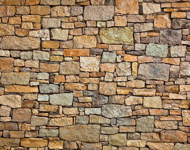 pic of stone floor  - Background of stone wall texture photo - JPG