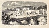 image of tabriz  - Antique illustration shows  Abbas Mirza - JPG